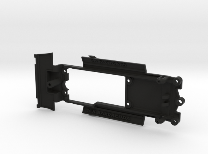 Chassis for SCX Plymouth Barracuda 3d printed