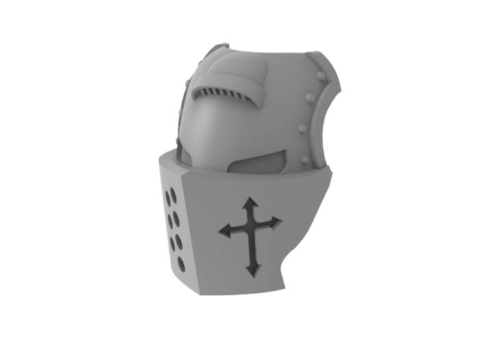 Templar Knight - Mask 3d printed