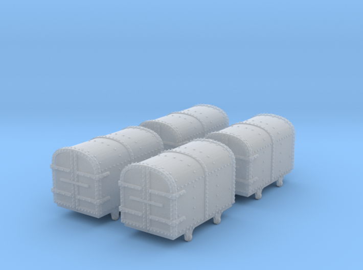 009 Gunpowder Van X4 3d printed