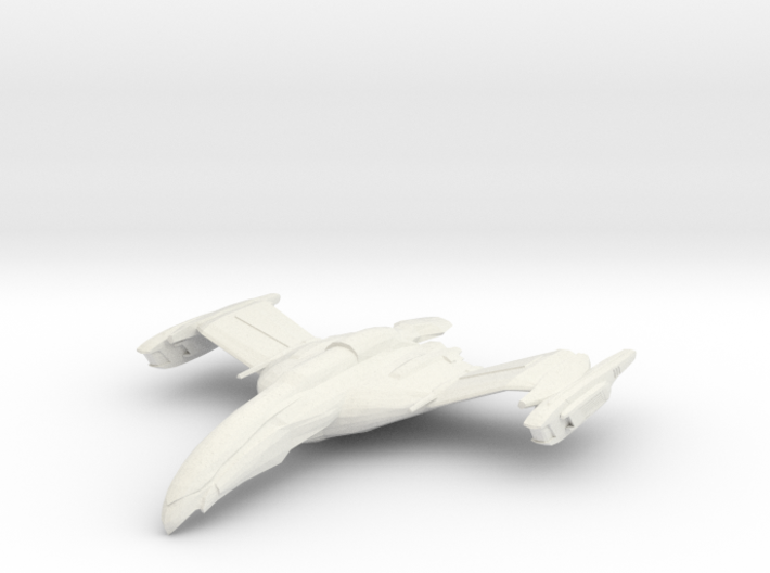 Romulan FireCondor Class HvyCruiser 3d printed