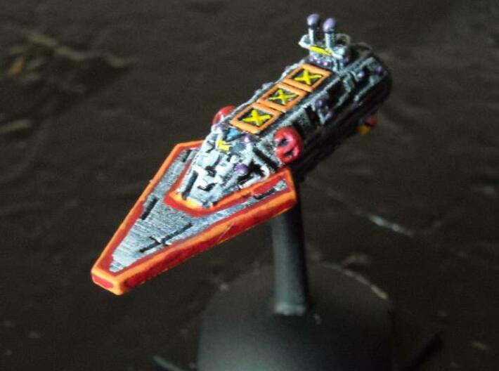 VA205 Darting Blade Transport Cruiser 3d printed Painted model