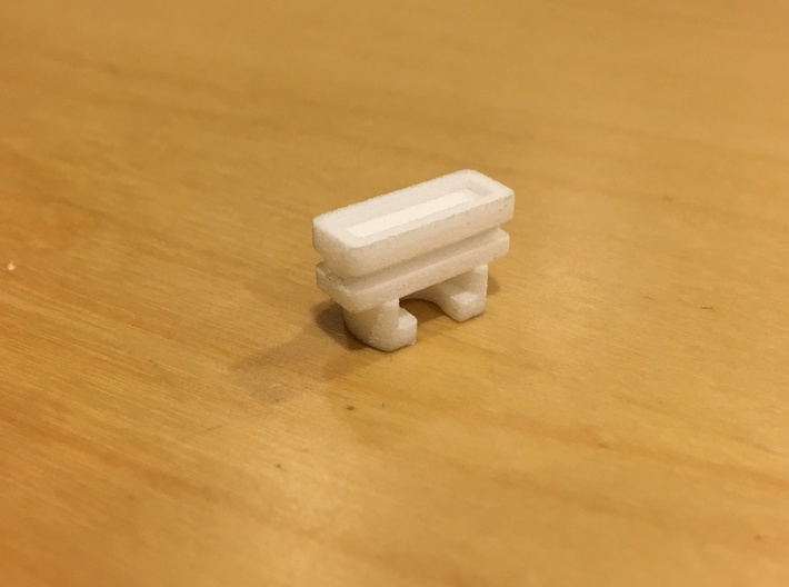 Replacement Part for Ikea KVARTAL slider(female) 3d printed