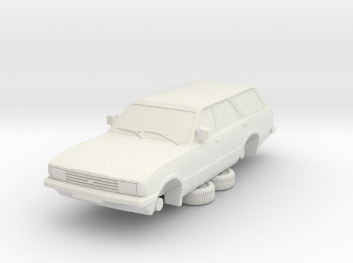 1-87 Ford Cortina Mk5 Estate Hollow 3d printed