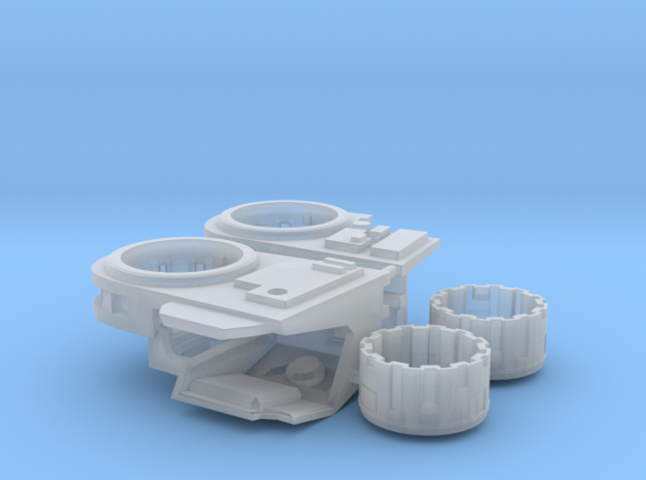Stormwave Dorsal Missile Array Support 3d printed