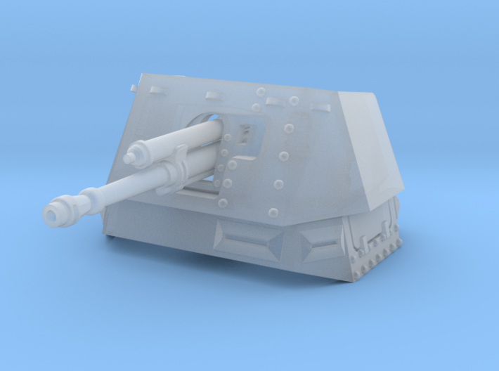 PanzerJager 1 (Fighting Compartment) 3d printed