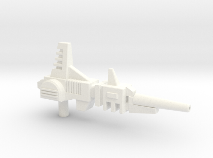 Gyro-Blaster Rifle for Titans Return Blitzwing 3d printed