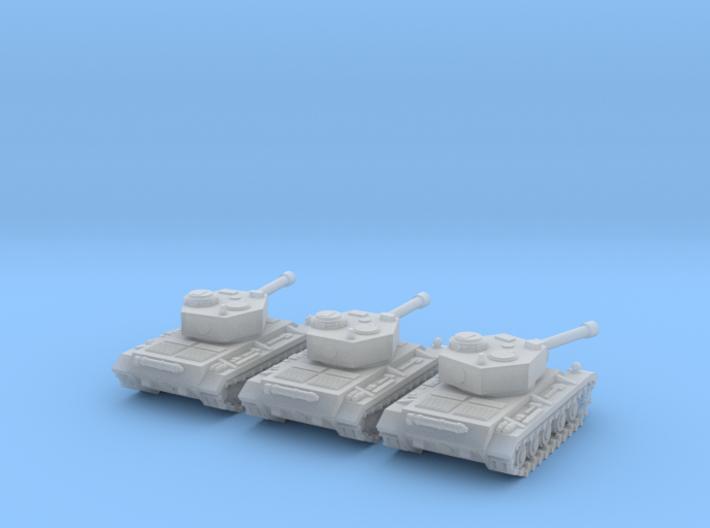 6mm WW2 tank (3) 3d printed