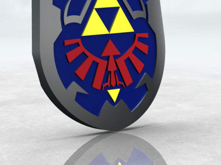 Hylian Shield 3d printed