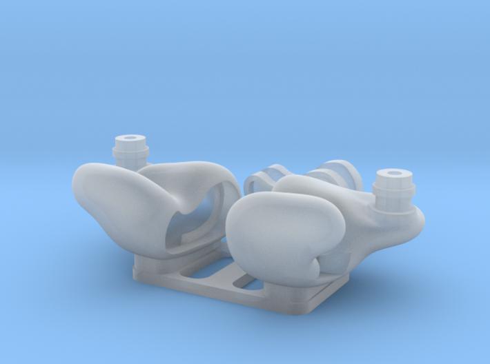 Universal IEM Shells 4 : ED/No engraving Ver. 3d printed