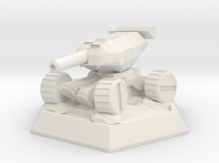 Flywheel Tank (Sophia the 3rd) 3d printed