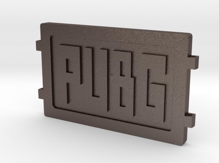 PUBG Dog Tag 3d printed