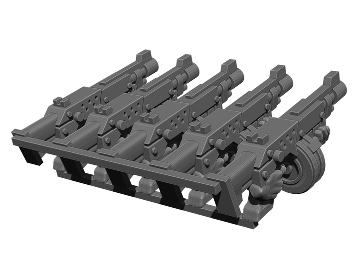 Automatic Rifle Weapons Pack 3d printed