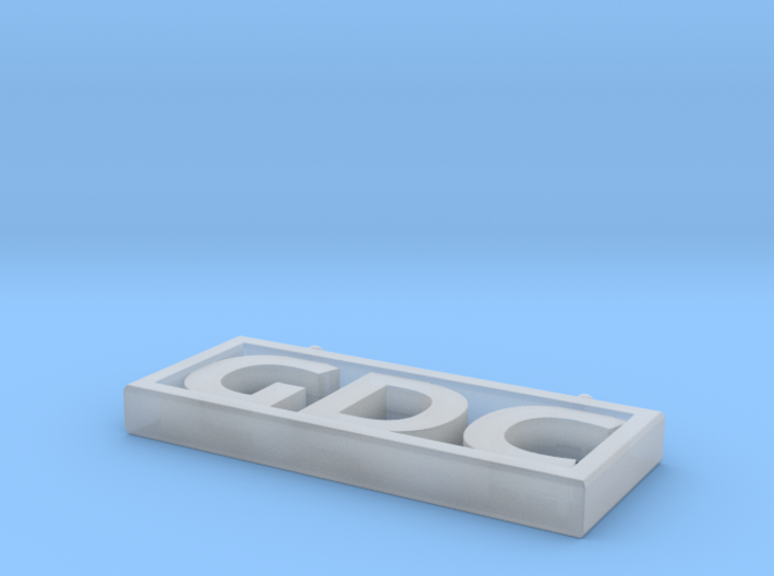 GDC Pendant 3d printed