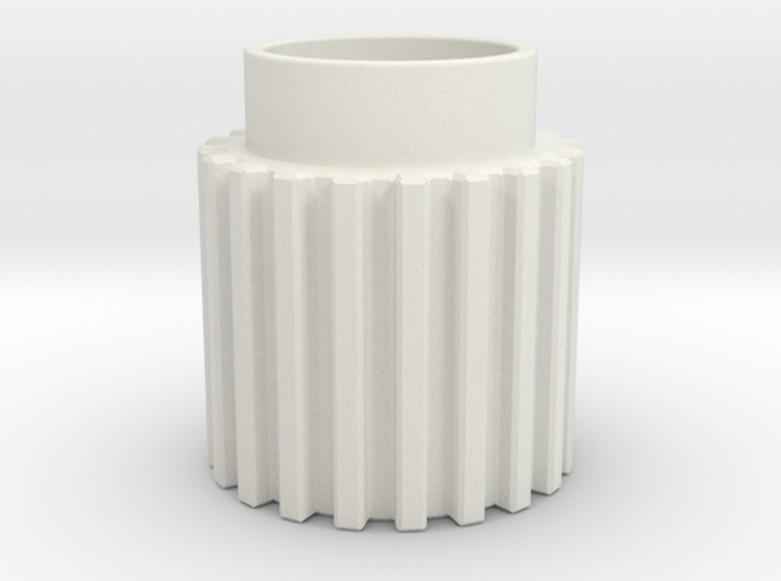 Chamfer Tooth Gear 3d printed