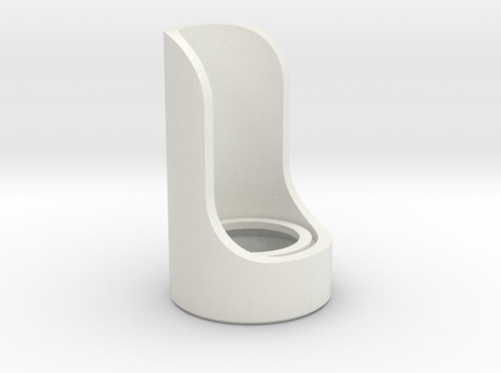 Cutaway Emitter 3d printed