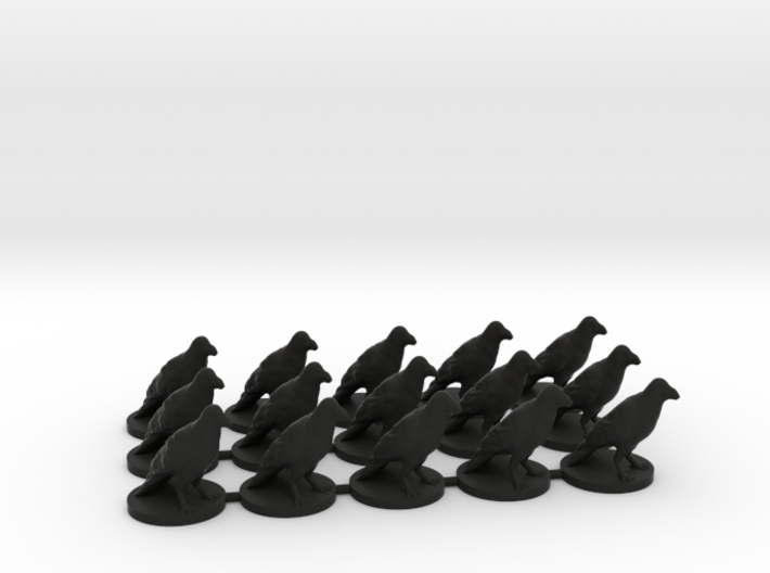 Game of Thrones Risk Pieces - Night's Watch 3d printed
