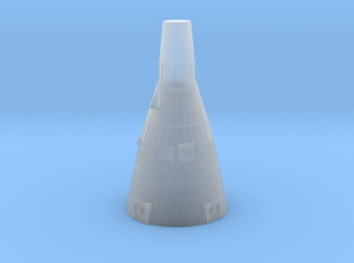Gemini Capsule 1:128 scale 3d printed q