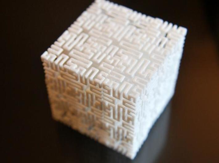 Tom''s Springy Little Box 3d printed Completed cube