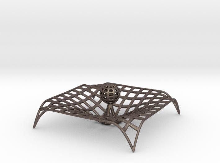 Gravity single body wire Metal Version 3d printed