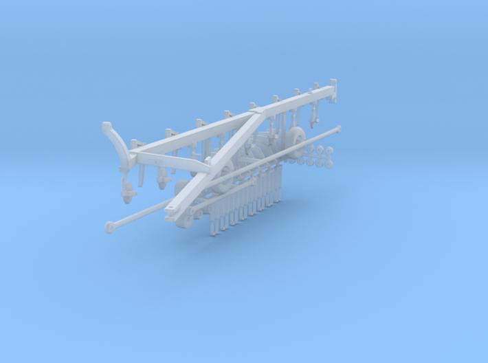1:64 IH 710 8 Bottom Plow Kit 3d printed