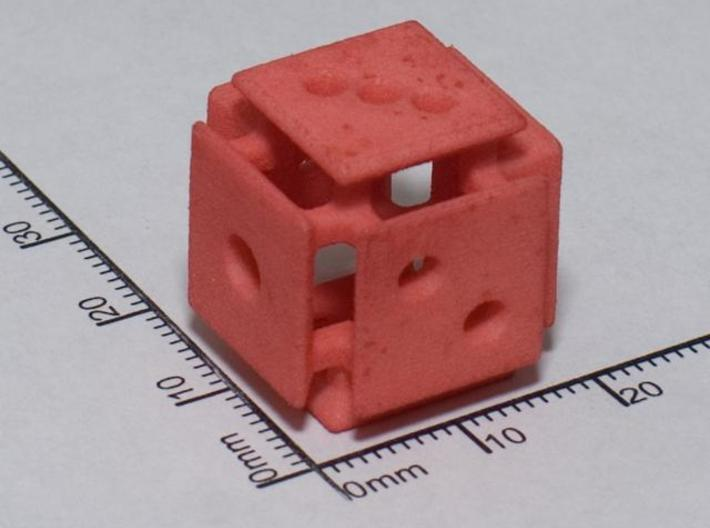 Floating Face Die 3d printed WSF died red at home