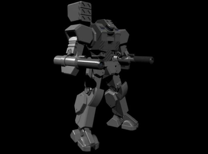 Mecha- Axe (1/285th) 3d printed Render