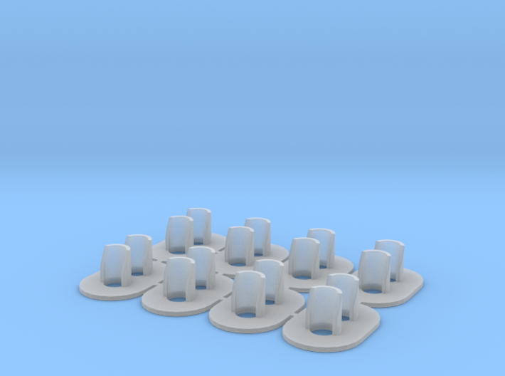 Proto S Scale (1-64) GRS Type D 2 Light Signal 3d printed