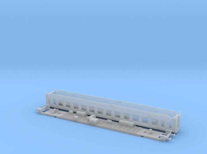 #106A - 22-80 020 TT Wagenkasten+Untergestell 3d printed