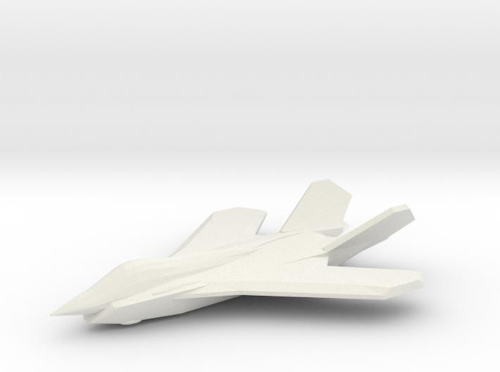 1/350 F-59A Sabre II 3d printed