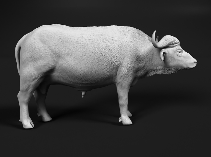 Cape Buffalo 1:22 Standing Male 1 3d printed