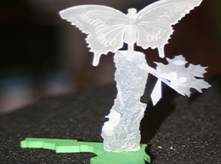 Life Of A Butterfly3 3d printed finished product unpainted