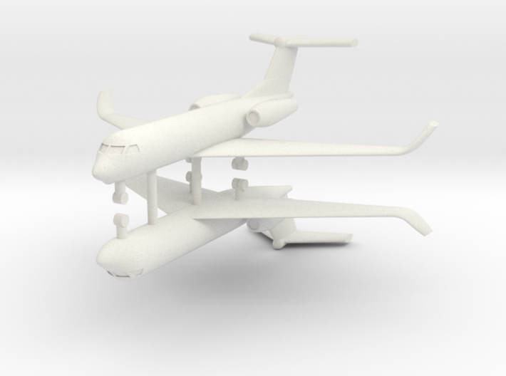 1/600 Low Detail G550 Gulfstream (x2) 3d printed
