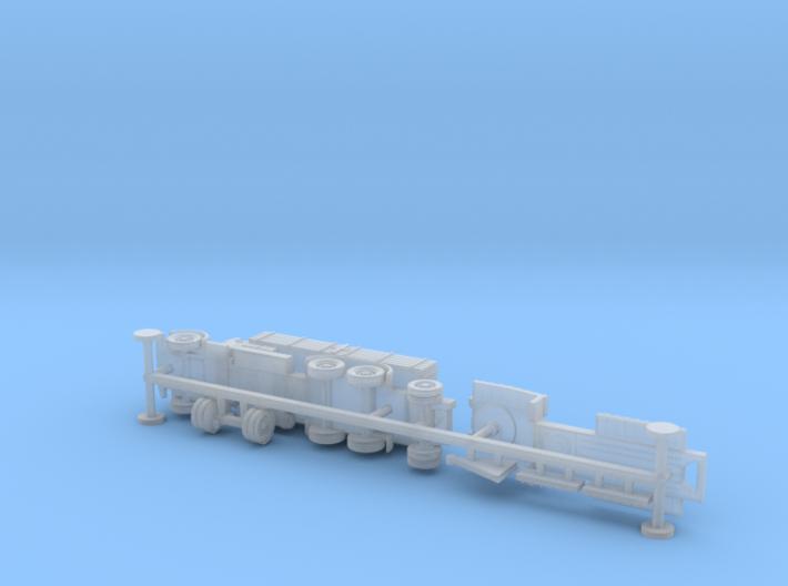 Faun L900 Hvy. Truck w. sd.Ah. 115 Trailer 1/144 3d printed