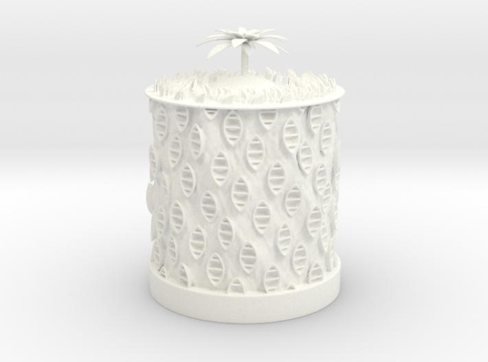 Ocean Bloom Zoetrope (old version) 3d printed