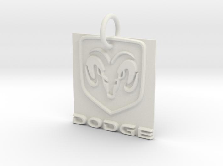 Dodge Pendant 3d printed