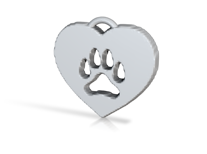 heart paw 3d printed