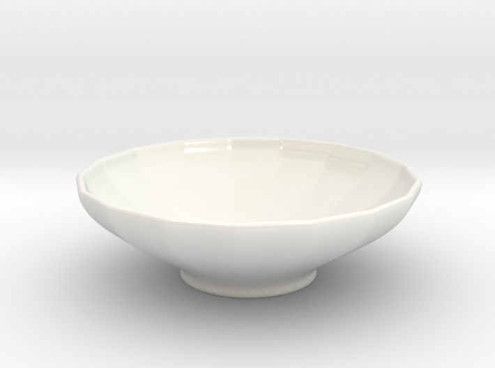 Bowl - series 17 - CUSTOM3D by andr345 3d printed