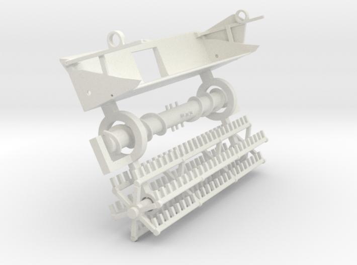 F15 vintage finger reel platform 3d printed
