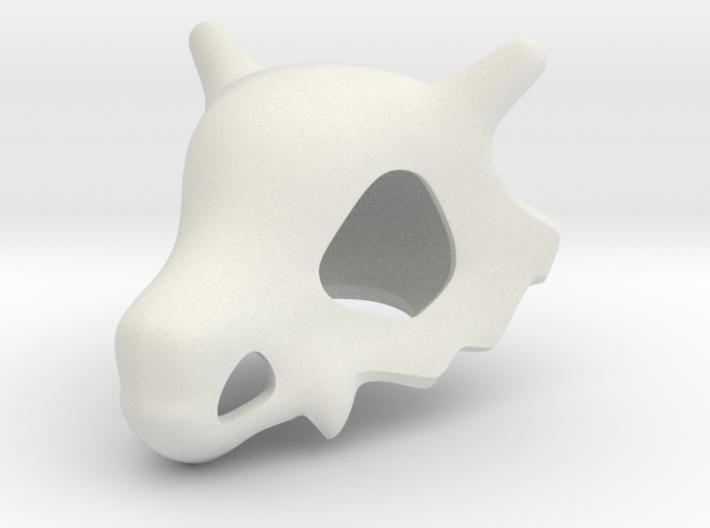 Cubone Skull 3d printed