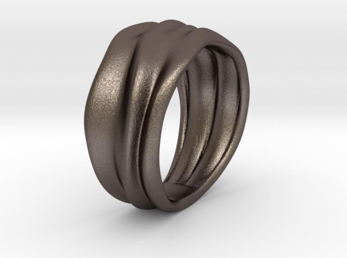 Lunar   Ring 3d printed