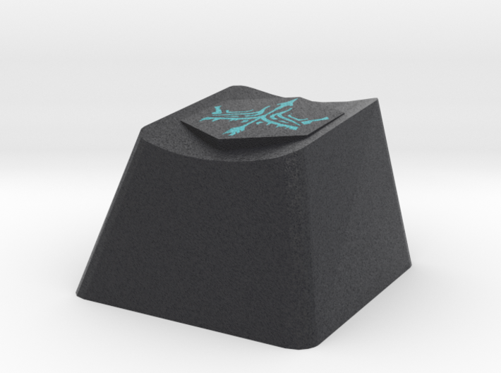 League of Legends Avarosa Cherry MX Keycap 3d printed