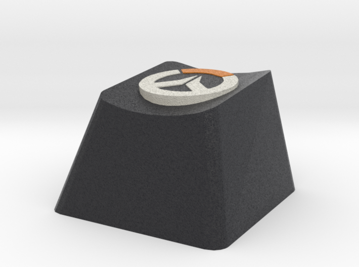 Overwatch Cherry MX Keycap 3d printed