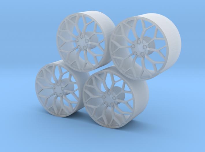 Huracan Performance wheels 3d printed