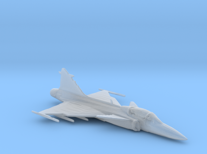 Saab Gripen 1/285 scale 3d printed