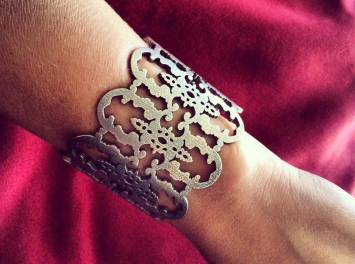 Wrought Iron Cuff 3d printed