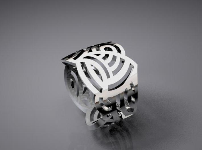 vase ring 1 3d printed Description