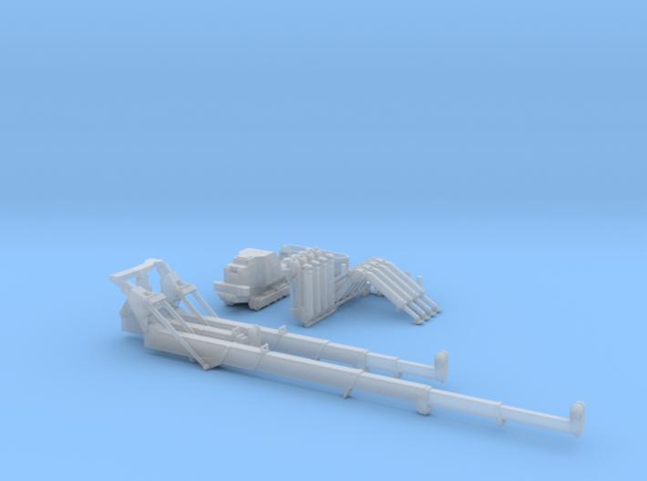 HO/1:87 Mini Crawler Crane Set C kit 3d printed