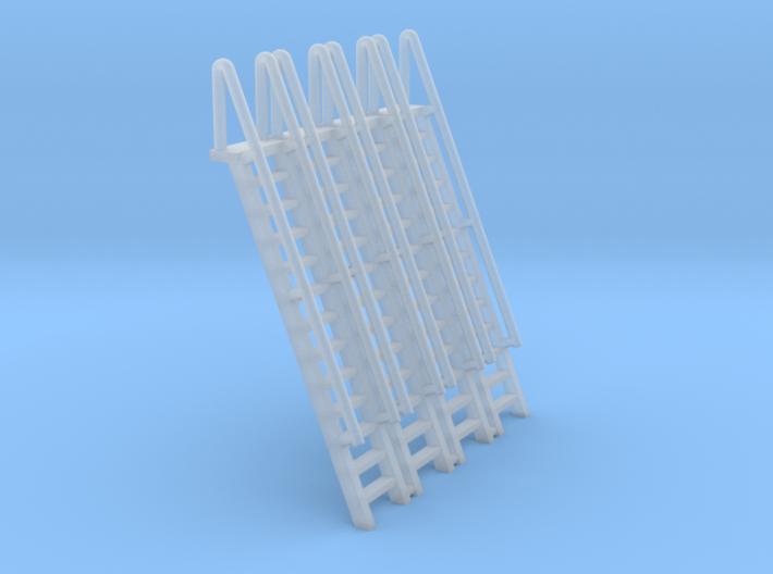 N Scale Ladder 13 (4pc) 3d printed