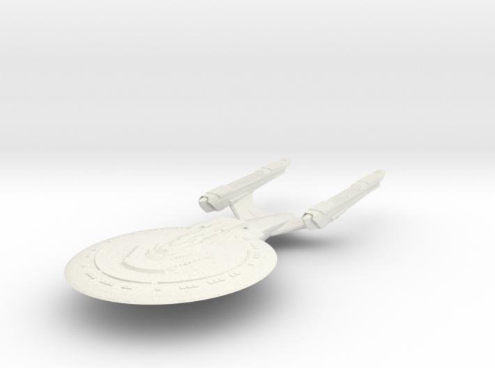 Miami Class BattleShip 3d printed