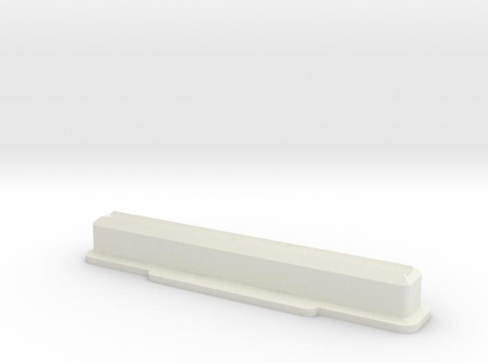 Super Nintendo/Super Famicom Cartridge Dust Plug 3d printed